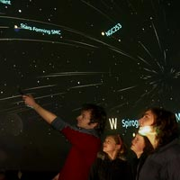 Be amazed in the Fiordland Stardome - the only one of it's kind in New Zealand